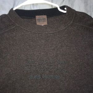 Versace Sweaters - Versace jeans couture wool sweater